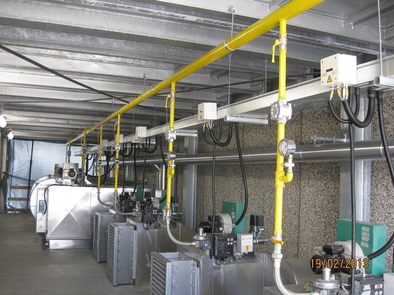 Riscaldamento Ad Aria A Gas.Riscaldamento Ad Aria Reti Di Distribuzione Gas Tecnici
